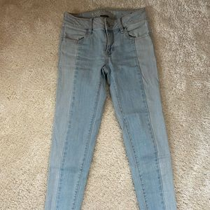 American eagle super stretch ankle jeans low rise